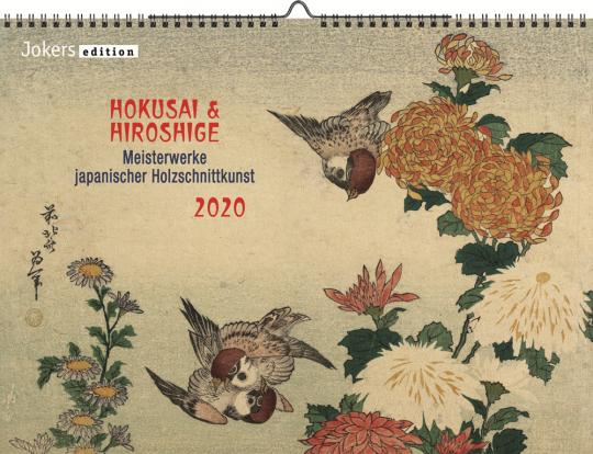 Hokusai und Hiroshige 2020. Wandkalender.