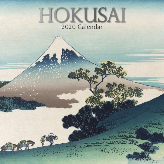 Hokusai Wandkalender 2020.