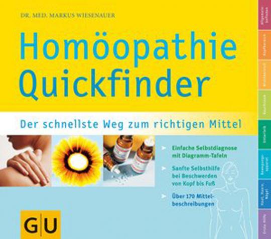 Homöopathie Quickfinder. Der schnellste Weg zum richtigen Mittel.