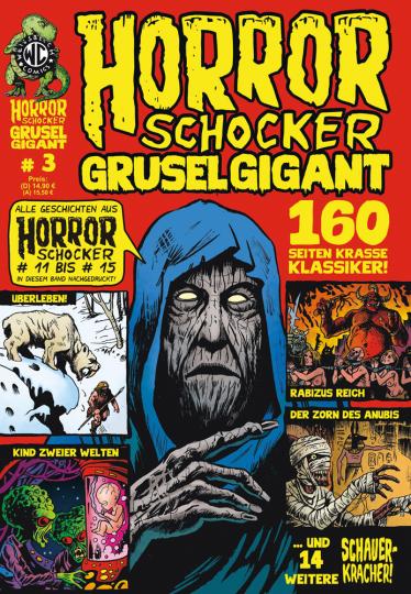 Horrorschocker Grusel Gigant #3. Alle Geschichten aus Horrorschocker 11 bis 15. Comic.