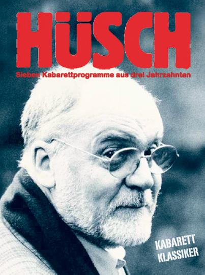 Hanns Dieter Hüsch - Sieben Kabarettprogramme aus drei Jahrzehnten. 3 DVDs.
