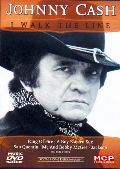 Johnny Cash, I walk the line DVD