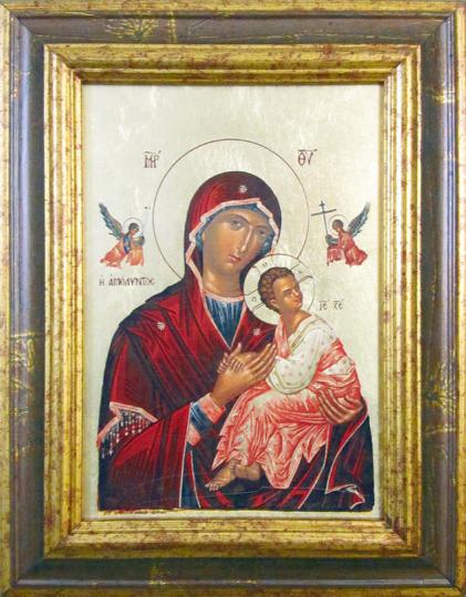 Ikone »Madonna der immerwährenden Hilfe«.