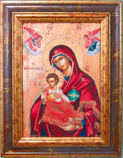 Ikone »Madonna Therapeussa«.
