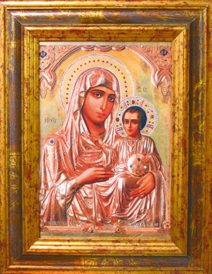 Ikone »Madonna von Jerusalem«.