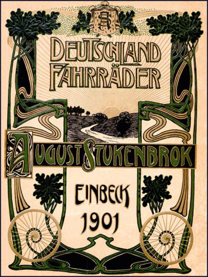 Illustrierter Hauptkatalog 1901 für Deutschland-Fahrräder und Zubehörteile.