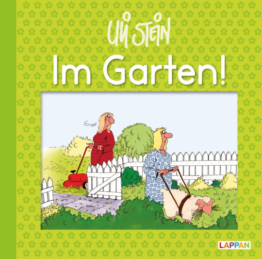 Im Garten! Lustiges Geschenkbuch für Gartenliebhaber.