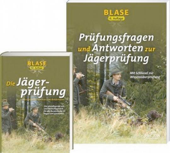Blase. Die Jägerprüfung. Blase. Prüfungsfragen und Antworten zur Jägerprüfung. 2 Bände.
