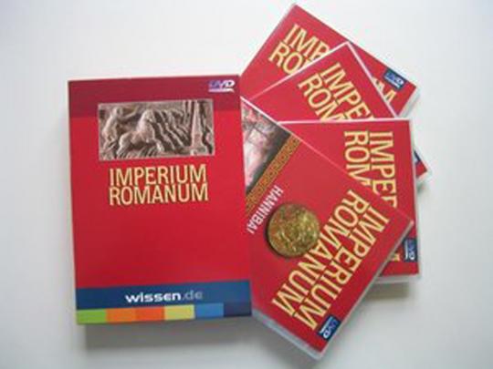 Imperium Romanum 4 DVDs