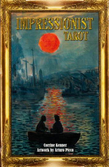 Impressionismus. Tarot Karten Set.
