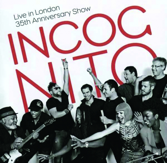 Incognito. Live In London 2014 (35th Anniversary Show). 2 CDs.