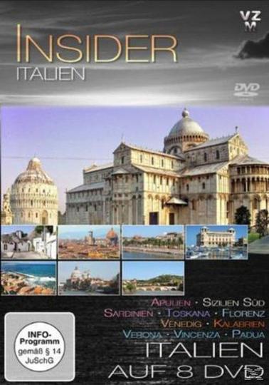 Insider Italien 9 DVD plus Parfum