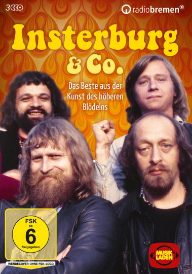 Insterburg & Co. Das Beste aus der Kunst des höheren Blödelns. 3 DVDs.