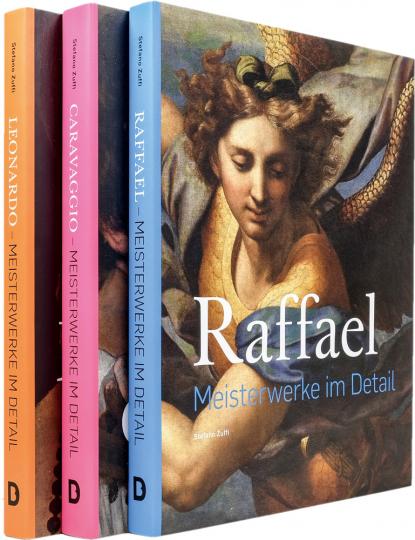 Italienische Meister im Detail, Set. Raffael, Leonardo, Caravaggio. 3 Bände.