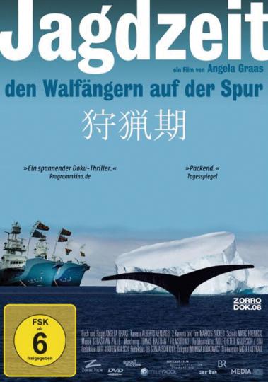 Jagdzeit. Den Walfängern auf der Spur. Dokumentation. DVD.