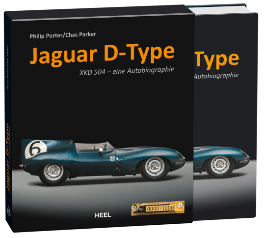 Jaguar D-Type. Die Autobiografie von XKD 504 (limitiert).