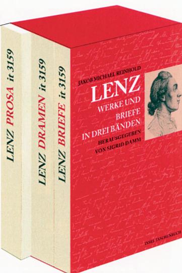 Jakob Michael Reinhold Lenz - Werke und Briefe in drei Bänden