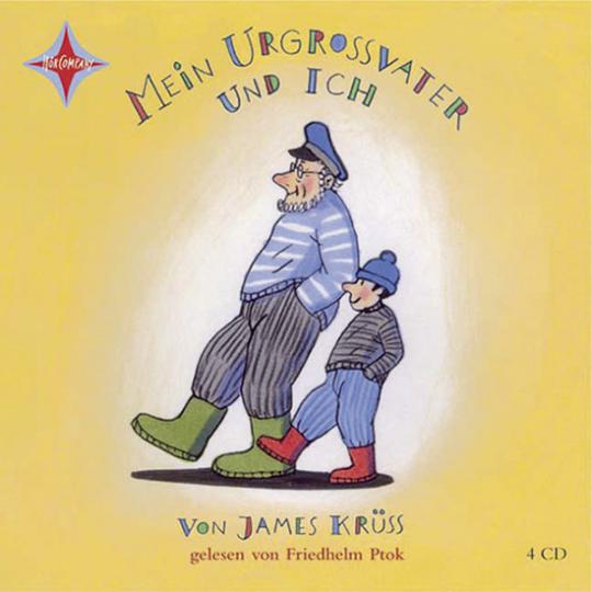 James Krüss. Mein Urgroßvater und ich. 4 CDs.