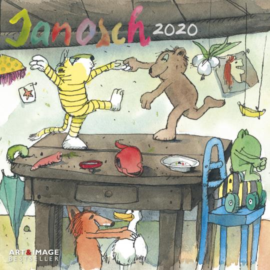 Janosch 2020 Posterkalender.
