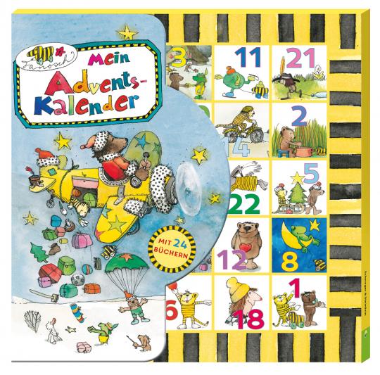 Janosch Mein Adventskalender. Mit 24 Büchlein in Kalender-Box.