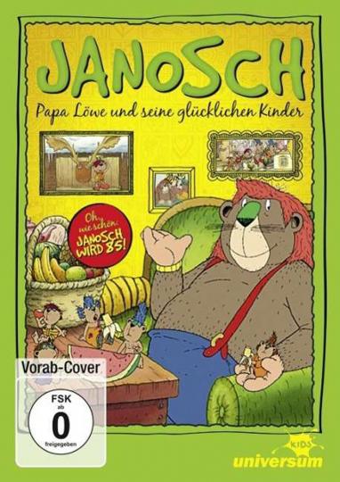 Janosch. Papa Löwe und seine glücklichen Kinder. 2 DVDs.