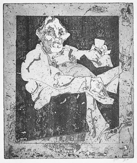 Janssen. Dickus, le crime, 1988.