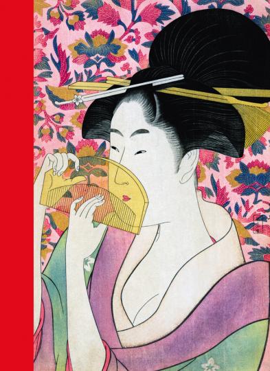 Japanische Farbholzschnitte. Postkartenbuch.
