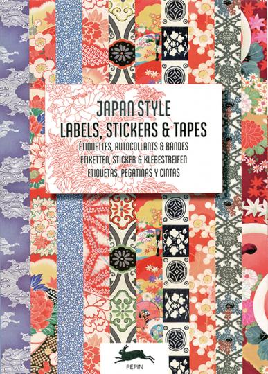 Japanisches Design. Sticker und Etiketten.