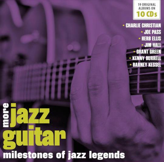 Jazz Guitar Vol. 2. Verschiedene Interpreten. 10 CDs.