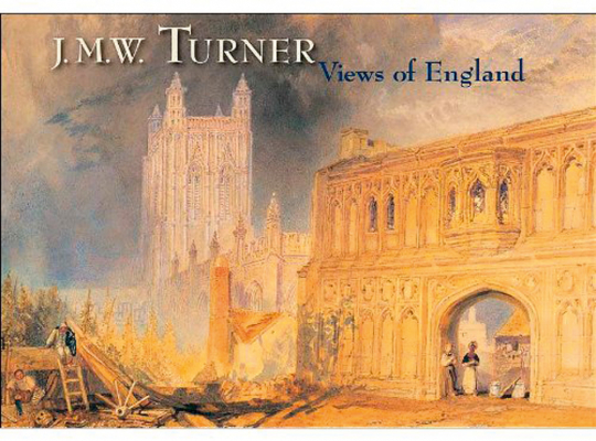 J. M. W. Turner. Views of England. Postkarten-Box.
