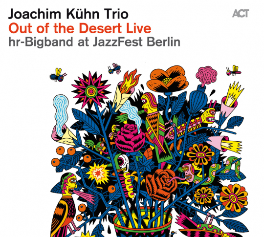 Joachim Kühn. Out of the Desert Live. CD.