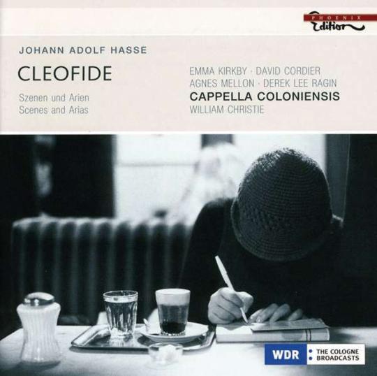 Johann Adolph Hasse. Cleofide. Oper in drei Akten. Szenen und Arien. CD.