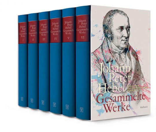 Johann Peter Hebel. Gesammelte Werke. Kommentierte Lese- und Studienausgabe in sechs Bänden.
