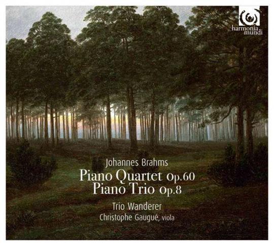 Johannes Brahms. Klavierquartett Nr. 3 op. 60, Klaviertrio op. 8. CD.