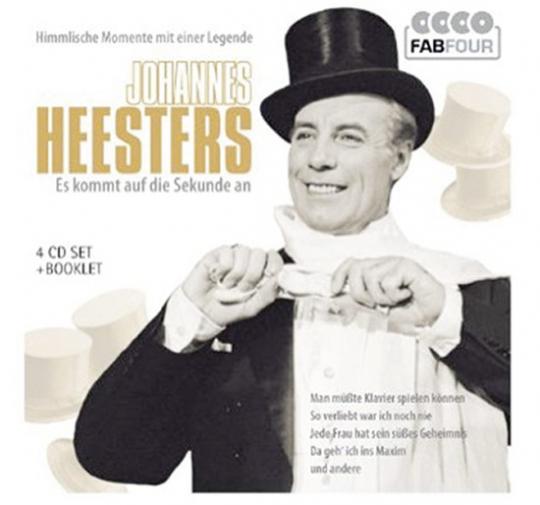 Johannes Heesters. Es kommt auf die Sekunde an. 4 CDs.