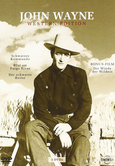 John Wayne: Western-Edition 3 DVDs