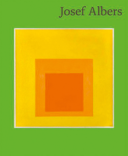 Josef Albers. No tricks, no twinkling of the eyes.