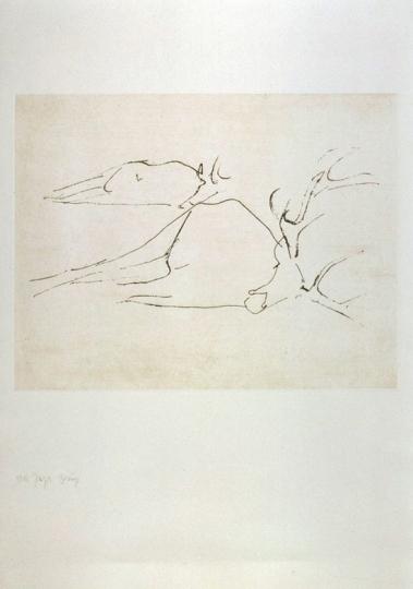 Joseph Beuys Zirkulationszeit. »Tote Hirsche«