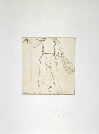 Joseph Beuys Zirkulationszeit »Taucherin«