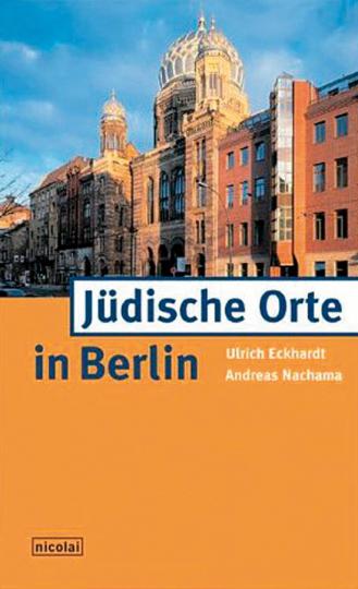 Jüdische Orte in Berlin.