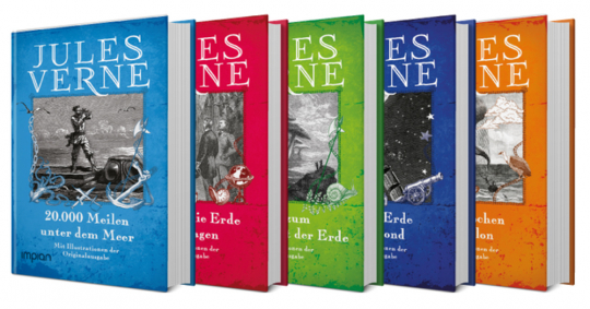 Jules Verne. 5 große Romane im Paket.