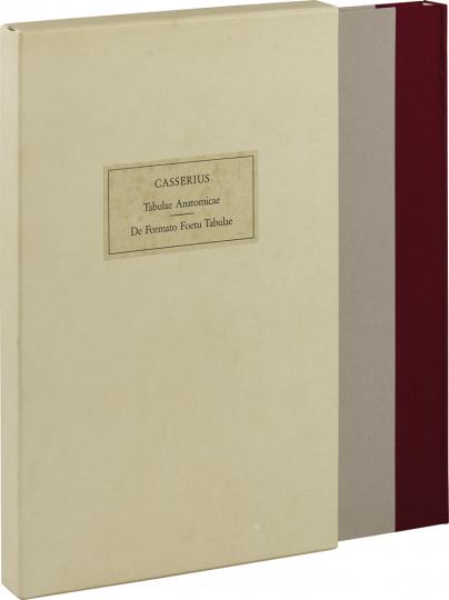 Julius Casserius. Tabulae anatomicae.