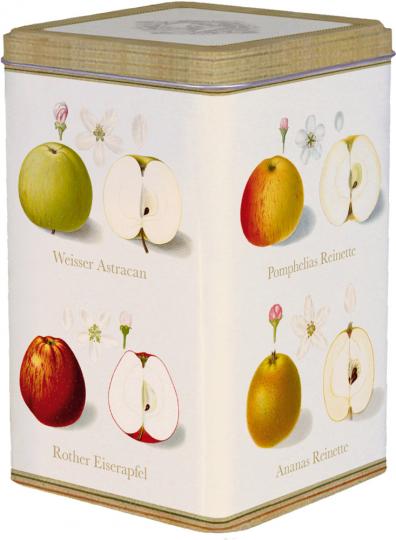 Kaffeedose »Pomologie der Äpfel«