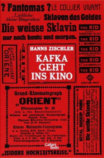 Kafka geht ins Kino. Buch mit DVD.