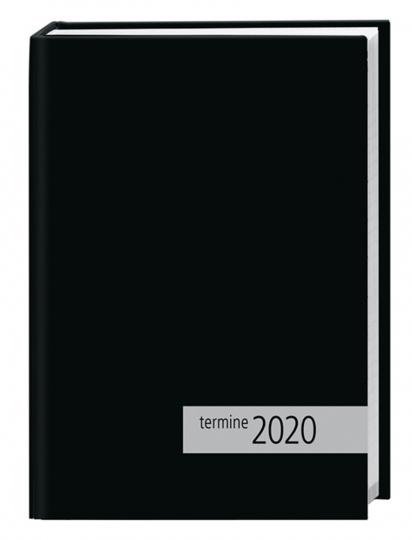 Kalenderbuch 2020, schwarz.