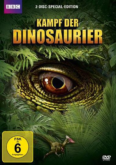 Kampf der Dinosaurier. 2 DVDs.