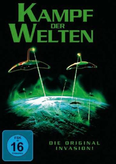 Kampf der Welten. DVD.