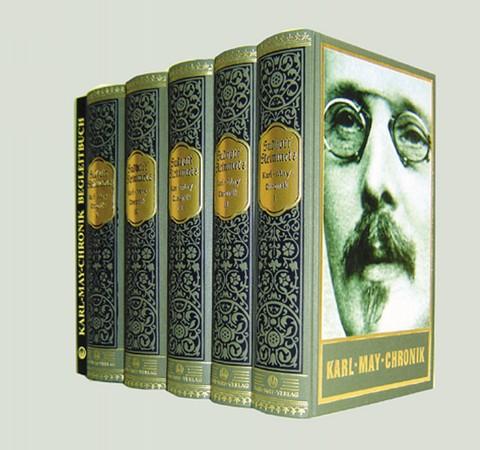 Karl-May-Chronik, 5 Bände + Begleitband