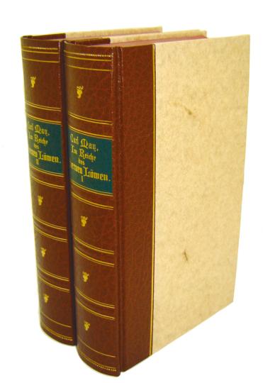 Karl May Reprint-Ausgabe: Im Reich des silbernen Löwen Teil 2