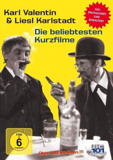 Karl Valentin & Liesl Karlstadt: Die beliebtesten Kurzfilme. DVD.